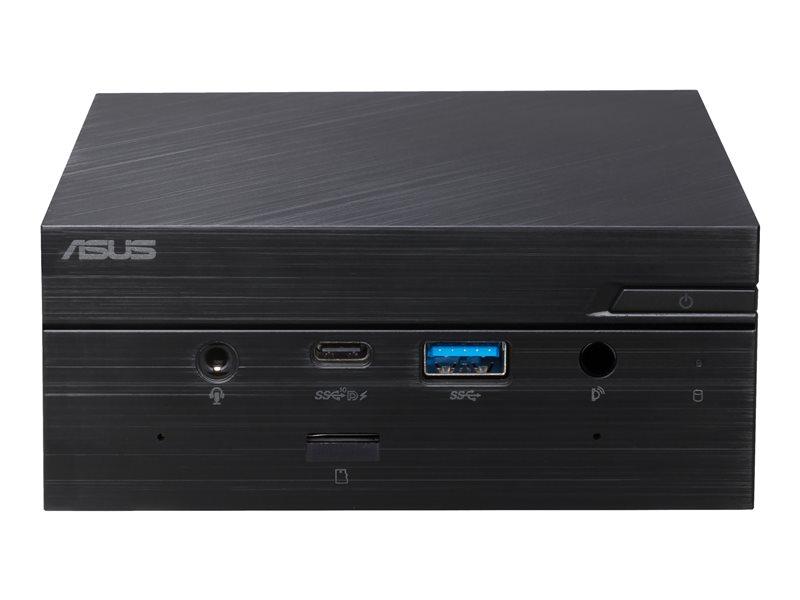 ASUS Mini PC PN50 BBR049MD-E1 - Barebone - mini PC - 1 x Ryzen 7 4700U / 2 GHz - RAM 0 GB - Radeon Graphics - GigE, Bluetooth 5.2 - WLAN: 802.11a/b/g/n/ac/ax, Bluetooth 5.2 - black