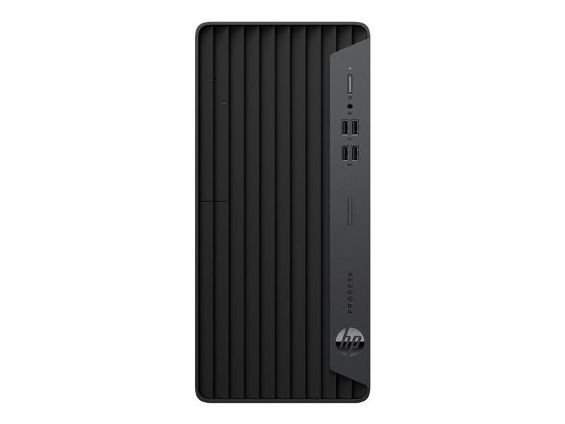 HP ProDesk 400 G7 - Micro tower - Core i5 10500 / 3.1 GHz - RAM 8 GB - SSD 256 GB - NVMe - DVD-Writer - UHD Graphics 630 - GigE - Win 10 Pro 64-bit - monitor: none - keyboard: UK