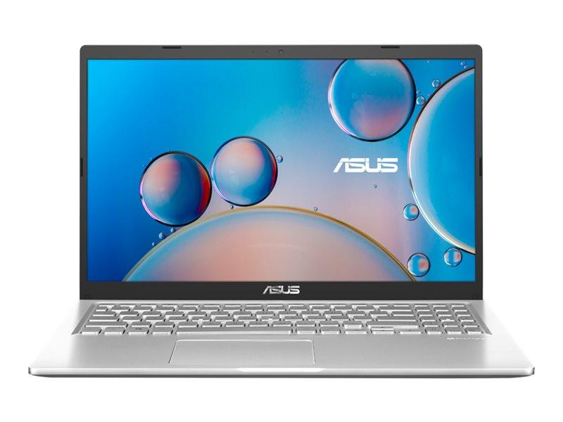 ASUS X515EA BQ945T - Core i3 1115G4 / 3 GHz - Win 10 Home in S mode - 4 GB RAM - 256 GB SSD NVMe - 15.6 1920 x 1080 (Full HD) - UHD Graphics - Wi-Fi 5, Bluetooth - transparent silver (LCD cover), transparent silver (top), sl